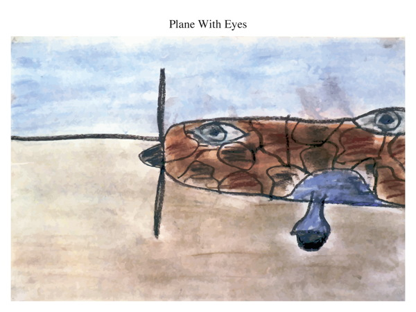 Plane With Eyes