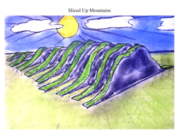 Sliced Up Mountains