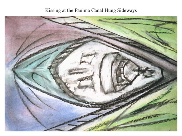 Kissing at the Panima Canal Hung Sideways