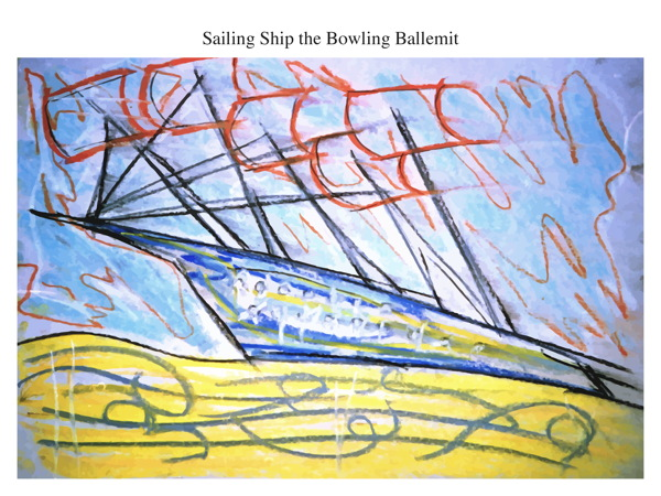 Sailing Ship the Bowling Ballemit
