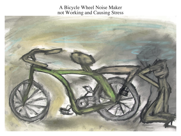 A Bicycle Wheel Noise Maker not Working and Causing Stress