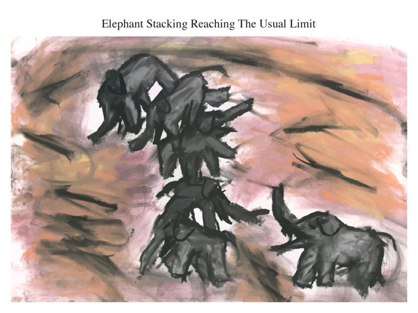 Elephant Stacking Reaching The Usual Limit