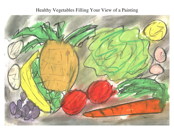 Healthy Vegetables Filling Your View of a Painting