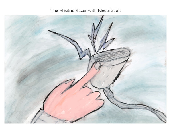 The Electric Razor with Electric Jolt