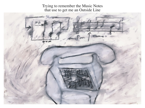 Trying to remember the Music Notes that use to get me an Outside Line