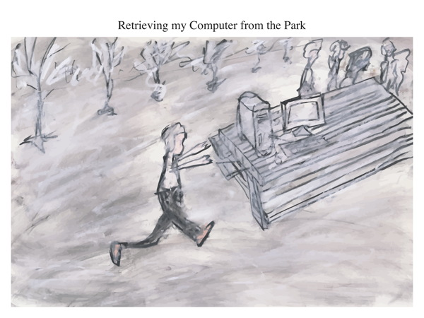 Retrieving my Computer from the Park