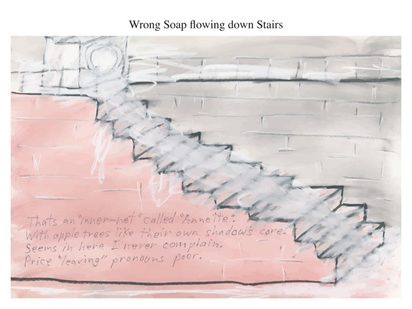 Wrong Soap flowing down Stairs