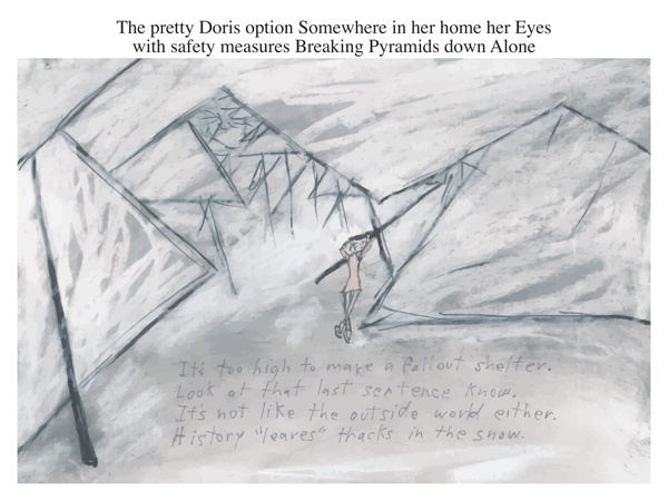 The pretty Doris option Somewhere in her home her Eyes with safety measures Breaking Pyramids down Alone